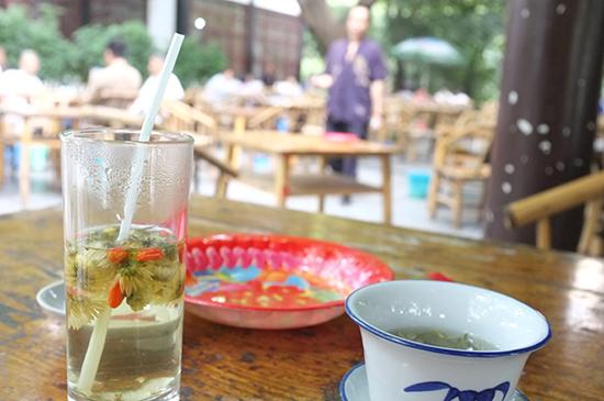 Tea house in Chengdu